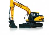 Hyundai Crawler Excavator HX160 L Construction Northern Lift Trucks