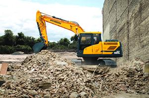 Hyundai Crawler Excavator HX80 L Construction Northern Lift Trucks