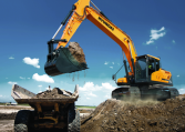 Hyundai Crawler Excavator HX260 L Construction Northern Lift Trucks