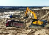 Hyundai Crawler Excavator HX330 L Construction Northern Lift Trucks