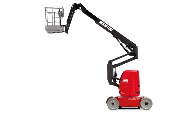 Manitou 120 AETJ Articulated Electric Access Aerial Work Platform Northern Lift Trucks