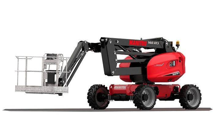Manitou 160 ATJ Articulated Diesel Access Aerial Work Platform Northern Lift Trucks