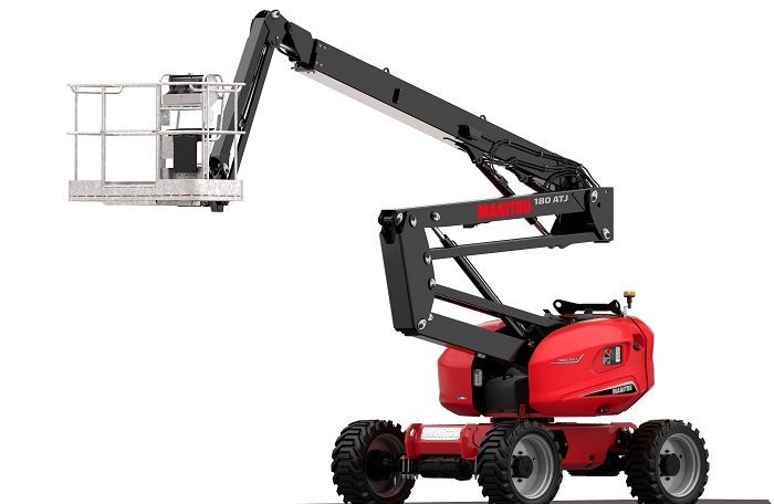Manitou 180 ATJ Articulated Diesel Access Aerial Work Platform Northern Lift Trucks