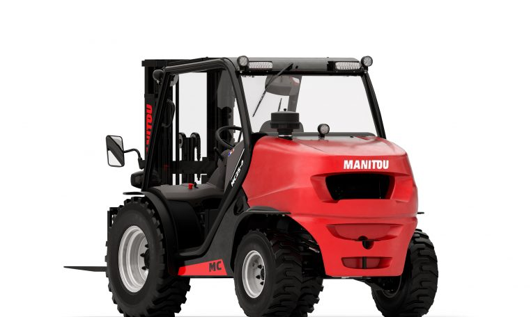 Manitou Masted Compact Rough Terrain Forklift Warehousing Equipment Industrial Solutions MC25 2 Wheeled 4 Wheeled Northern Lift Trucks