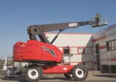 Manitou Telescopic Diesel Aerial Work Access Platform 220 TJ Northern Lift Trucks