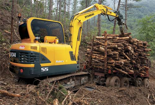Hyundai Mini Excavator R55-9A Construction Northern Lift Trucks