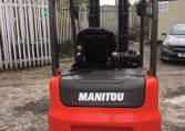 2017 Manitou ME418 Ex Demo Electric Forklift Northern Lift Trucks