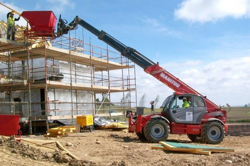Construction Telehandler Northern Ireland