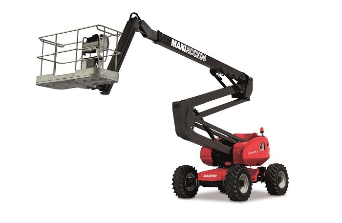 Manitou 200ATJ Articulated Diesel Access Aerial Work Platform Northern Lift Trucks
