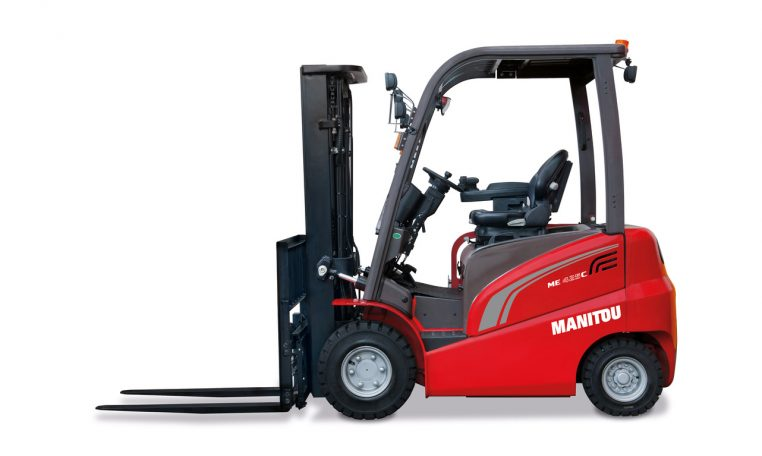 Manitou Electric Forklift Warehousing Equipment Industrial Solutions ME425C Northern Lift Trucks