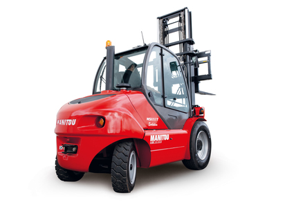 Manitou Semi Industrial All Terrain Masted Forklift Warehousing Equipment Industrial Solutions MSI50 Northern Lift Trucks