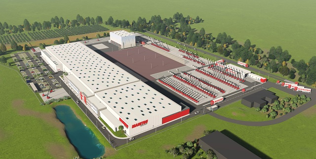 First Stone Laid at Manitou's New Access Platform Factory