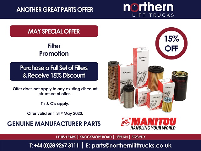 Another Great Parts Offer – May 2020