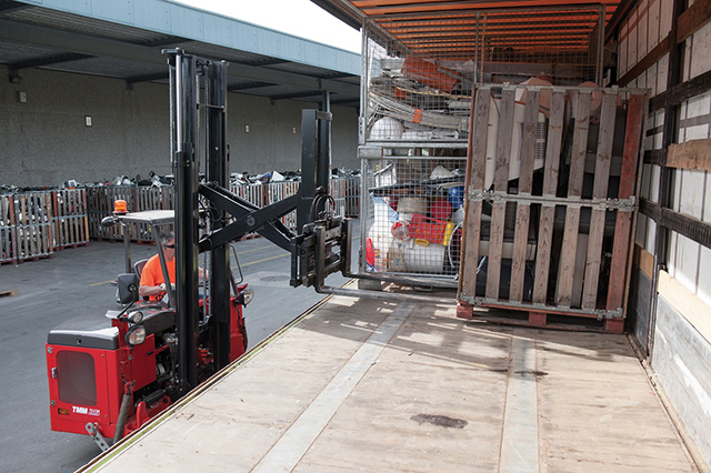Truck Mounted Forklift With Mast TMF
