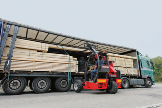 Truck Mounted Forklift with Telescopic Boom TMT